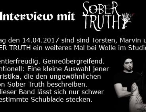 Radio Special | Metal Only im Live Interview mit Sober Truth