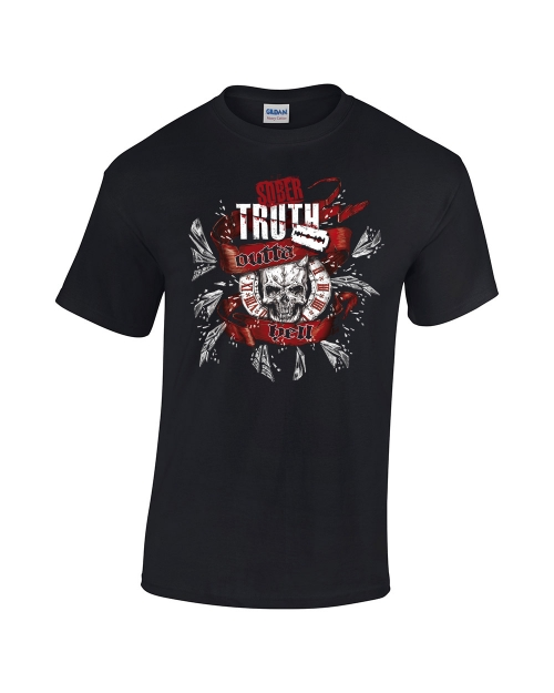 Outta hell Skull Shirt - Sober Truth