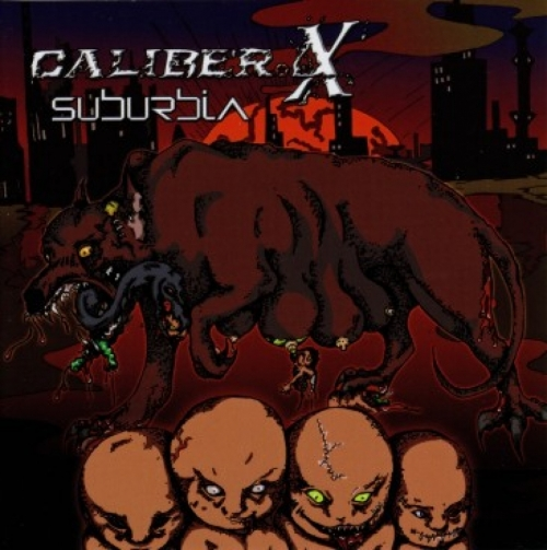 Caliber.X - Suburbia CD Taktart Records