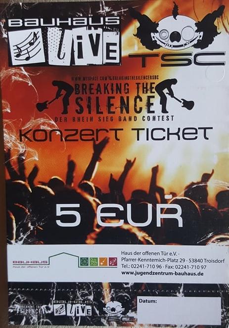 Bauhaus Live Ticket
