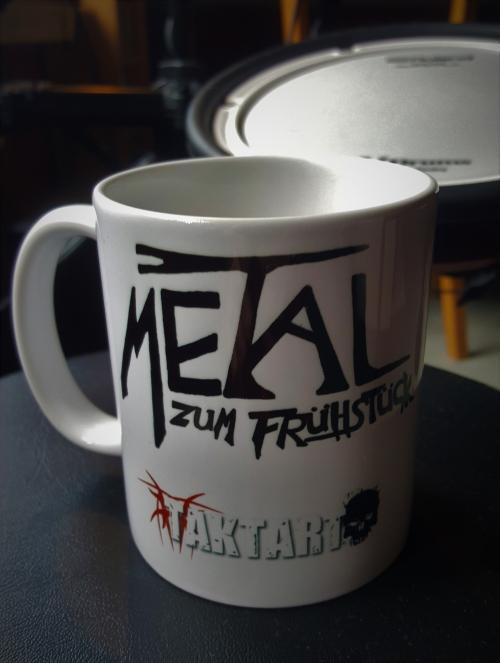 METAL ZUM fRÜHSTÜCK - kAFFEEBECHER