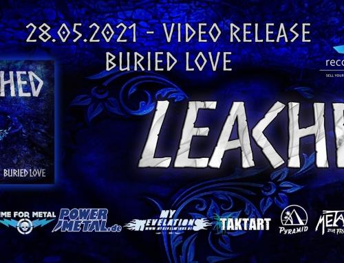 """Leached veröffentlichen ihr 4tes Musikvideo mit dem Track """"Buried Love"""" in der Pandemie"""